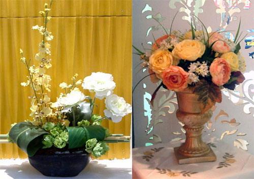 居室里的独特风景--干花插花