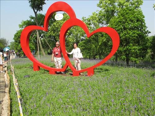 世界著名花海雕塑